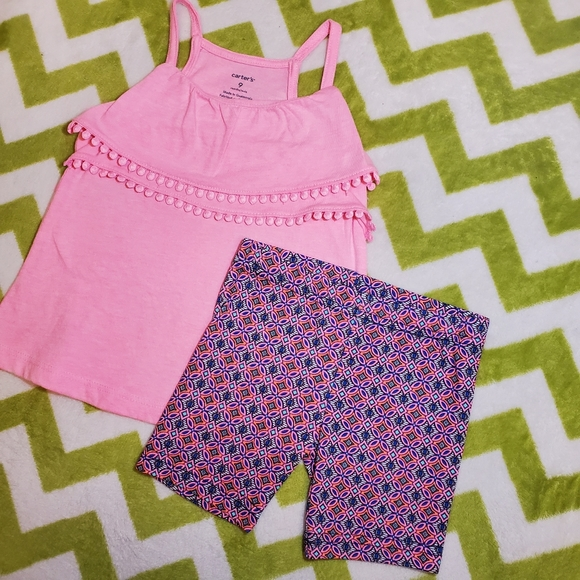 Carter's Shorts Outfit 9 Months NWT